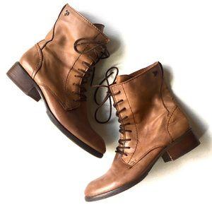 Sam Edelman Lace up Combat boots Size 9.5